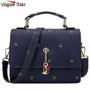 Vogue Star Brand women handbag for women bags leather handbags women's pouch bolsas shoulder bag female messenger bags YK40-78