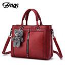Luxury Women Leather Handbag Red Retro Vintage Bag Designer Handbags High Quality Famous Brand Tote Shoulder Ladies Hand Bag 703
