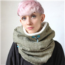 Oversized cowl, cowl scarf , hooded cowl