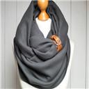 chunky muffler infinity scarf