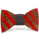 Unique handcrafted wooden bow ties
