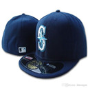 Seattle Mariners Classic Deep Blue Fitted Hat