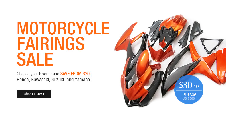 Free Shipping Motorcycle Fairings