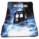 Doctor Who Throw Blanket