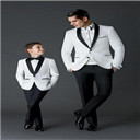 Tuxedo Boys For Wedding Custom Made Smoking Casamento Evening Tuxedo Suit Boy clothing/Bespoke Kid Wedding Suits/Kid Prom suits