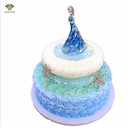 1PC/1Set Frozen Asia Cake Topper GDoll Toys For Children Wedding Decoration Baby Shower Birthday Party Decoration Kids HOT