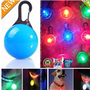 LED Safety Dog Cat Night Light Flashing Colour Buckle Collar Pet Luminous