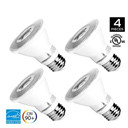 PAR20 Dimmable LED Bulb, 8W (50W equivalent), 3000K (Soft White Glow), CRI90+, Flood Light Bulb, 40° Beam Angle, Medium Base (E26), ENERGY STAR & UL Listed