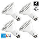 PAR30 LED Dimmable Bulb, 12W Flood Light Bulb, 65-75W Halogen Bulbs Equivalent, 900lm, 3000K (Soft White), 40 Degree Beam Angle, E26 Base, Recessed Lights, ENERGY STAR & UL