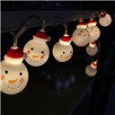 Snowman LED String Lights