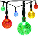 Christmas String Lights Waterproof Decorative Globe