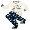 Children Cotton Dinosaur Pajamas