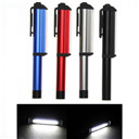 300LM Aluminum LED COB CREE Pen Pocket Torch Lamp Magnetic Inspection Work Lamp