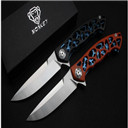 Monkey Version Dmitry Sinkevich Custom folding Knife,Blade:D2(Satin),Handle:G10+Stainless steel,outdoor EDC tools