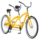 Single Speed Tandem, Yellow, 17