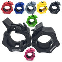 Greententljs 2 Inch Barbell Clamps Quick Release Pair of Locking 2