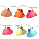 Easter bunny 10 Count Rabbit LED String Light Set