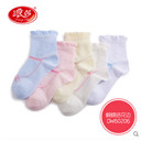 Children butterfly festival lace socks