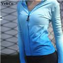 2017 Women Yoga Jackets Quick-Dry