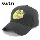 Fashion Men Cotton Sad Frog Patter Snapback