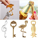 Gold /Silver Beer Wine Champagne Bottle Opener Barware Tool Wedding Party Favor