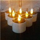Solar Powered Led Tea Light Candle Wedding Decoration Romantic Warm White AU