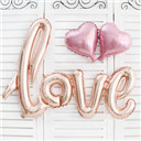 Fashion Love Rose Gold Foil Balloon Birthday Wedding Party Anniversary Décor