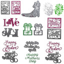 Wedding Metal Cutting Dies DIY Scrapbooking Album Paper Card Embossing Craft Hot