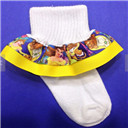 Beauty and the Beast Ruffle Socks