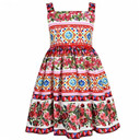 Girls Vestido Party Dress