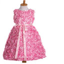 Girls Flower Sleeveless Dress
