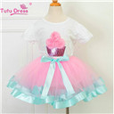 Girls Ruffled Tutu Skirt