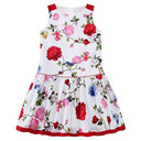 Children White Floral Dress