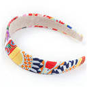 Majolica Printed Children Hair Bands for Girls