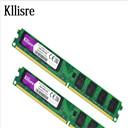 Kllisre 4GB(2pcsX2GB) DDR2 2GB Ram 800Mhz PC2-6400U 240Pin 1.8V CL6 Desktop Memory