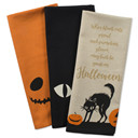 Halloween Holiday Printed Dish Towels
