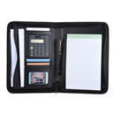 PU Leather A5 Portable Business Portfolio Padfolio
