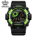 SMAEL Brand New Fashion Men Sports Watches Military Man Electronic LED Digital Watch