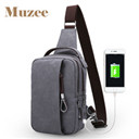 Muzee 2017 USB Design Sling Bag Wallet Gift Large Capacity Handbag Hot-Selling Crossbody Bag