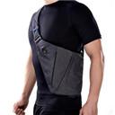 NewBring Summer Black Single Shoulder Bags for Men Waterproof Nylon Crossbody bags