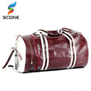 Hot Outdoor Sport Multifunction PU Gym Fitness Training Shoulder Bag