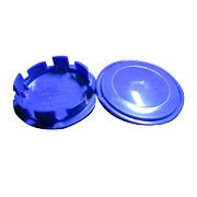 Blue Hub Caps