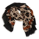 2019 New Women 50*50cm Autumn Heart Print Small Square Scarves