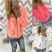 Women Zip Up Fleece Hoody