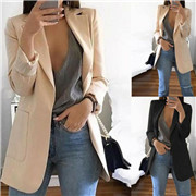 Women Slim Casual Blazer Jacket
