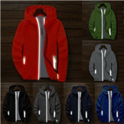 Men's Waterproof Windbreaker Zipper Jacket hoodie Light Sports Outwear Coat Gym