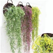Artificial Fake Silk Flower Vine Hanging Garland Plant Home Garden Wedding Décor