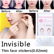 Invisible Thin Face facial Stickers