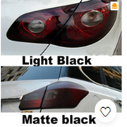 Car Tint Headlight Taillight Fog Light Vinyl Smoke Film Sheet Sticker