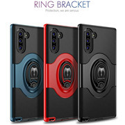 Note 10 Plus Shockproof Case Kickstand Ring Cover